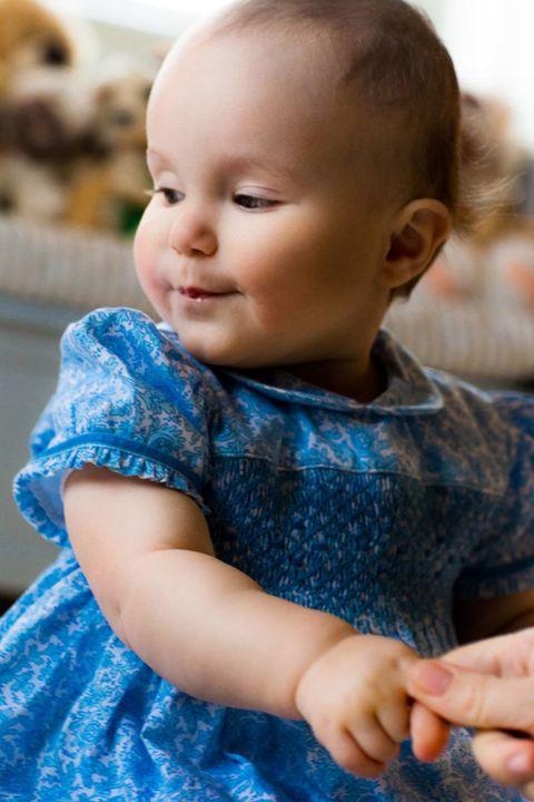 Ear, Finger, Cheek, Sleeve, Child, Baby & toddler clothing, Nail, Iris, Toddler, Pattern,