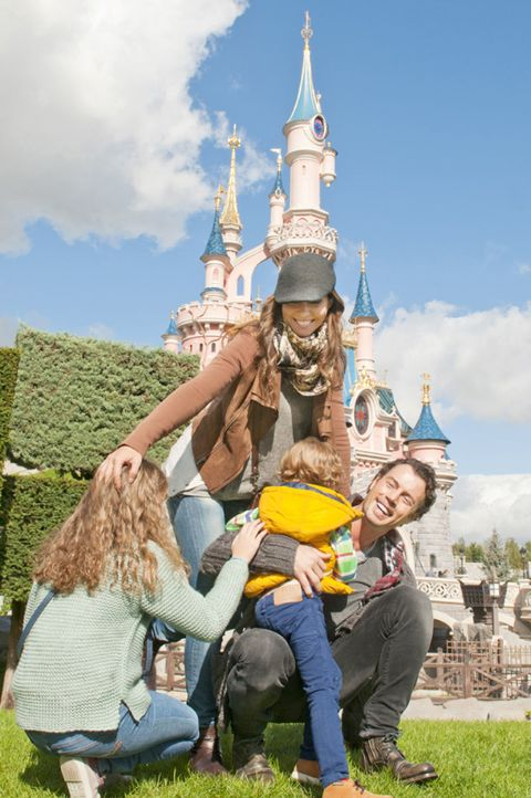 Human, Sky, Social group, Leisure, Tourism, Walt disney world, Jeans, People in nature, Vacation, Temple,