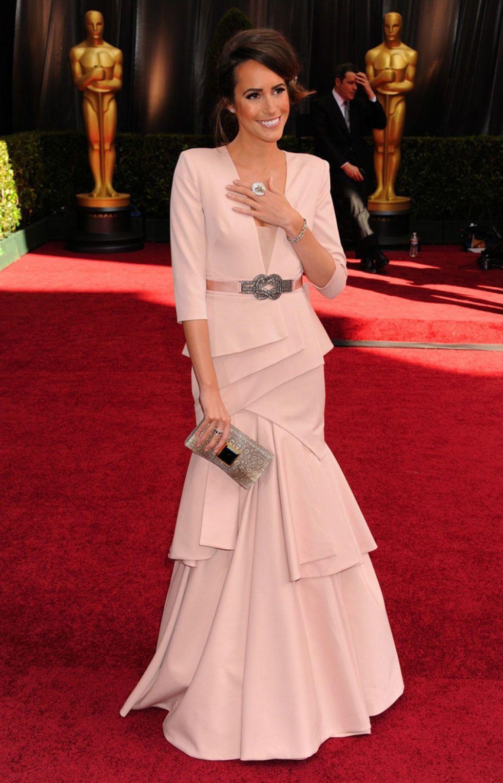 La alfombra roja de los Oscar.