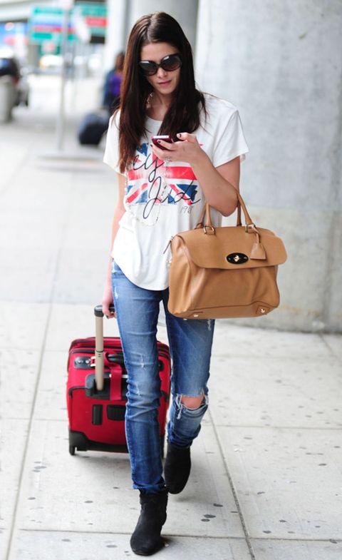 Clothing, Eyewear, Vision care, Product, Brown, Bag, Denim, Shoulder, Jeans, Textile,