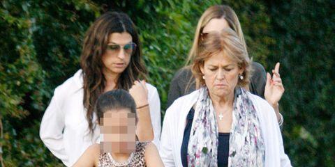 La Novia De Alejandro Sanz Feliz Con Su Hijo Y La Hija Del Cantante