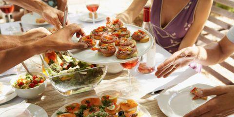 Food, Cuisine, Meal, Dishware, Tableware, Dish, Culinary art, Serveware, Finger food, Garnish,