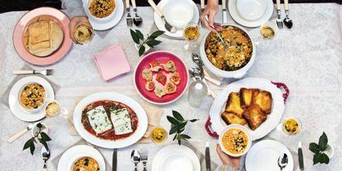 Food, Cuisine, Meal, Dishware, Serveware, Dish, Tableware, Table, Ingredient, Plate,