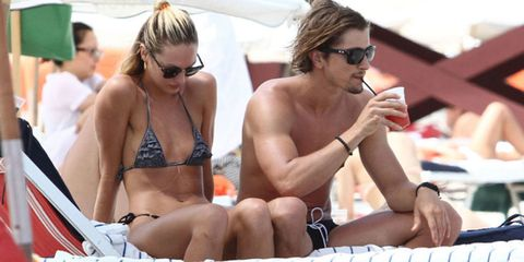 Eyewear, Glasses, Vision care, Sunglasses, Goggles, Chest, Sitting, Brassiere, Summer, Sun tanning,