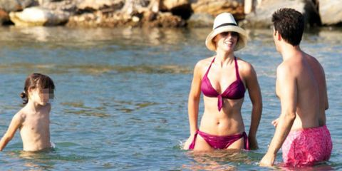 Fun, Brassiere, Photograph, Hat, Swimwear, Summer, Undergarment, Swimsuit top, Abdomen, Vacation,