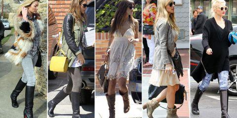 e8e3b242aa1 ... este año Kate Moss, Jessica Alba, Sara Carbonero, Elsa Pataky y Gwen  Stephani han decidido dar la bienvenida al otoño con las botas puestas.