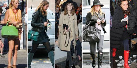 Clothing, Hair, Footwear, Leg, Product, Hat, Bag, Coat, Textile, Photograph,