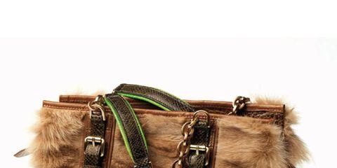 Brown, Textile, Khaki, Bag, Liver, Beige, Collar, Fawn, Fur, Natural material,