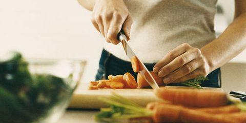 Finger, Food, Hand, Ingredient, Root vegetable, Cook, Produce, Kitchen utensil, Cooking, Recipe,