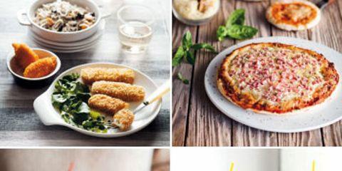 Food, Cuisine, Finger food, Ingredient, Dish, Tableware, Meal, Pizza, Recipe, Breakfast,