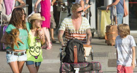 Eyewear, Hat, Sunglasses, Shorts, jean short, Luggage and bags, Sun hat, Bag, Street fashion, Fedora,