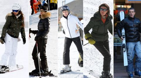 Clothing, Eyewear, Winter, Vision care, Jacket, Recreation, Trousers, Outerwear, Snow, Winter sport,