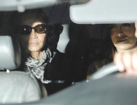 Eyewear, Vision care, Goggles, Car seat, Sunglasses, Head restraint, Vehicle door, Cool, Car seat cover, Passenger,