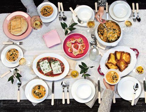 Food, Cuisine, Dishware, Meal, Dish, Serveware, Tableware, Table, Recipe, Porcelain,