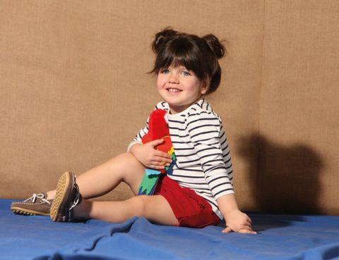 Finger, Human body, Human leg, Sitting, Elbow, Hand, Happy, Baby & toddler clothing, Wrist, Knee,
