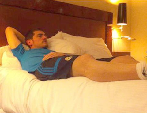 Comfort, Lighting, Room, Human leg, Elbow, Textile, Bedding, Photograph, Bed, Bedroom,