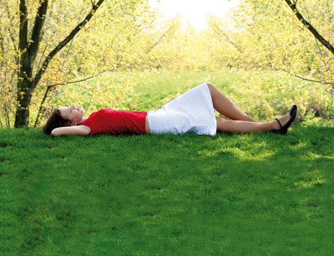Human leg, People in nature, Sunlight, Knee, Waist, Meadow, Sun, Abdomen, Deciduous, Ankle,