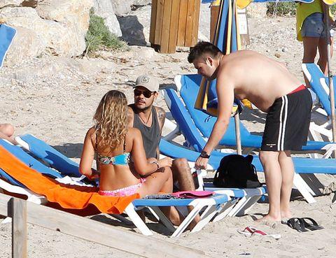 Leg, Fun, Leisure, Brassiere, Summer, Swimwear, Tourism, Beach, Sunglasses, People in nature,