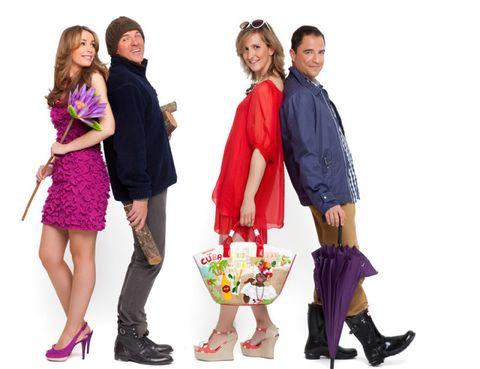Clothing, Footwear, Leg, Sleeve, Trousers, Textile, Coat, Outerwear, Purple, Pink,
