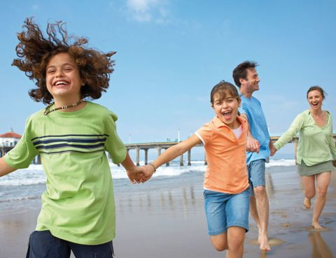 Arm, Fun, Smile, People, Human body, People on beach, Leisure, Hand, Standing, Tourism,
