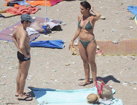 Clothing, Fun, Brassiere, Swimwear, Swimsuit bottom, Swimsuit top, Human leg, Bikini, Summer, Undergarment,
