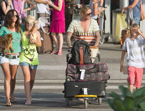 Clothing, Eyewear, Bag, Shorts, Sunglasses, Luggage and bags, Street fashion, Fashion accessory, Fashion, Snapshot,