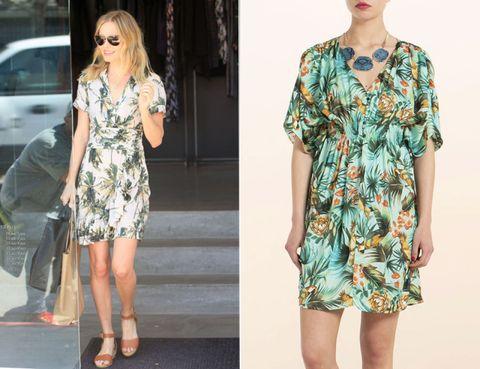Clothing, Leg, Sleeve, Shoulder, Dress, Pattern, Joint, Human leg, Style, Teal,