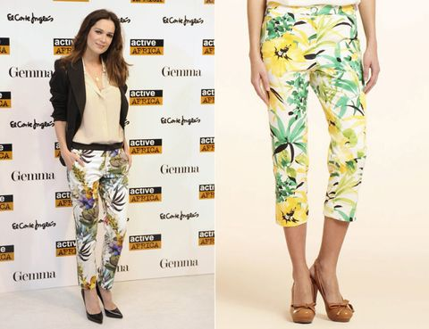 Footwear, Green, Yellow, Sleeve, Pattern, Style, Orange, Fashion, Street fashion, Neck,