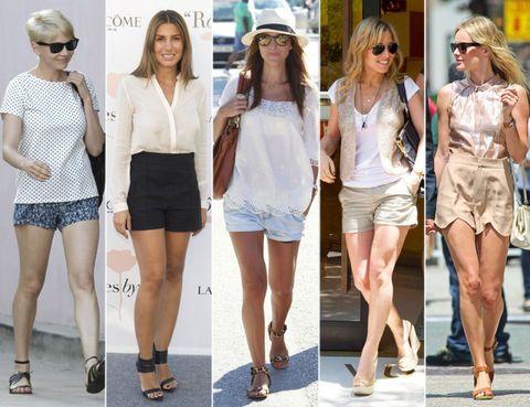 Clothing, Eyewear, Hair, Footwear, Leg, Vision care, Outerwear, White, Fashion accessory, Style,