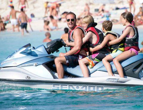 Eyewear, Fun, Recreation, Watercraft, Leisure, Summer, Outdoor recreation, Sunglasses, Vacation, Personal water craft,