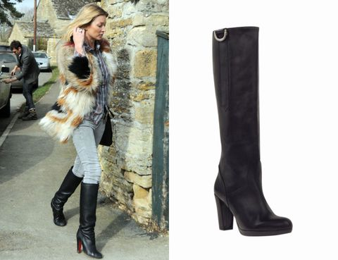 Clothing, Footwear, Brown, Boot, Textile, Outerwear, Style, Bag, Street fashion, Fashion accessory,