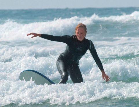 Surfing Equipment, Fun, Surfboard, Surface water sports, Recreation, Water, Leisure, Standing, Boardsport, Wave,