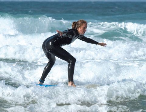 Water, Surfing Equipment, Leisure, Wave, People in nature, Ocean, Surface water sports, Wind wave, Water sport, Beauty,