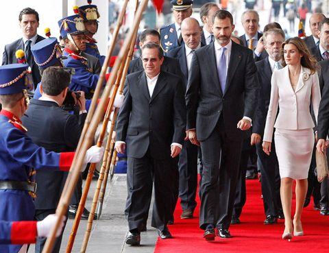 Coat, Trousers, Shirt, Suit, Outerwear, Flag, Style, Uniform, Formal wear, Dress shirt,
