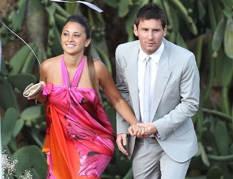 Trousers, Coat, Shirt, Outerwear, Dress shirt, Formal wear, Suit, Dress, People in nature, Magenta,