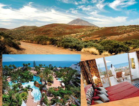 Nature, Natural landscape, Mountainous landforms, Landscape, Hill, Outdoor furniture, Mountain, Resort, Seaside resort, Beach,