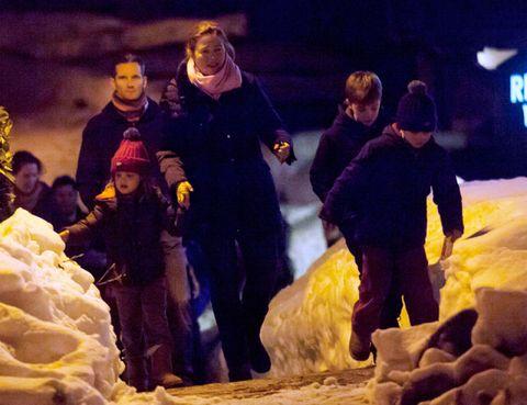 Human, Winter, People, Interaction, Snow, Freezing, Ceremony,