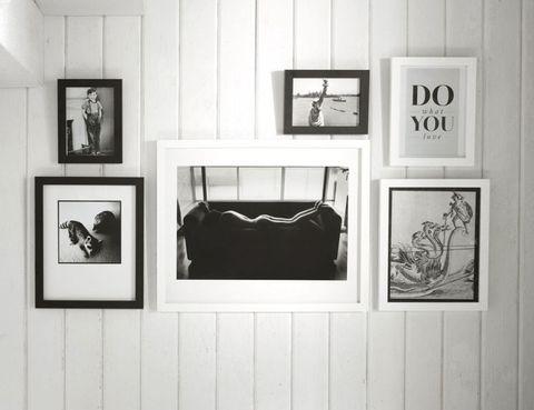 White, Style, Picture frame, Monochrome photography, Black-and-white, Art, Collection, Monochrome, Interior design, Rectangle,