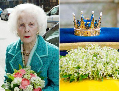 Yellow, Petal, Flower, Crown, Jewellery, Bouquet, Fashion accessory, Flowering plant, Cut flowers, Electric blue,