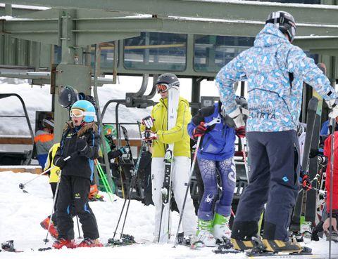 Recreation, Winter sport, Ski, Winter, Outerwear, Ski Equipment, Ski pole, Snow, Outdoor recreation, Ski boot,