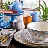 Serveware, Blue, Dishware, Porcelain, Tableware, Ceramic, Drinkware, earthenware, Plate, Pottery,