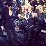 Eyewear, Vision care, People, Fun, Event, Sunglasses, Photograph, Sitting, Hat, White,