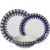 Blue, Photograph, Dishware, White, Serveware, Pattern, Porcelain, Lavender, Jewellery, Circle,