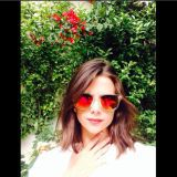 Eyewear, Nature, Vision care, Lip, Natural environment, Hairstyle, Sunglasses, Photograph, Red, White,
