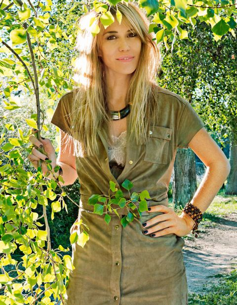 Clothing, Green, Fashion accessory, People in nature, Summer, Sunlight, Spring, Street fashion, Headpiece, Blond,