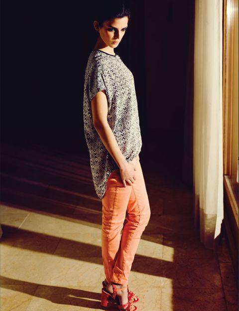 Clothing, Human body, Shoulder, Textile, Standing, Human leg, Style, Curtain, Street fashion, Fashion,