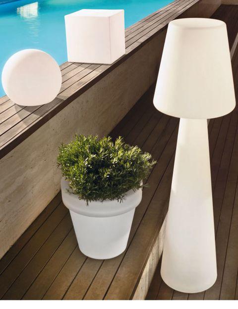 Flowerpot, Interior design, Design, Houseplant, Lampshade, Lighting accessory, Herb, Swimming pool, Lamp,