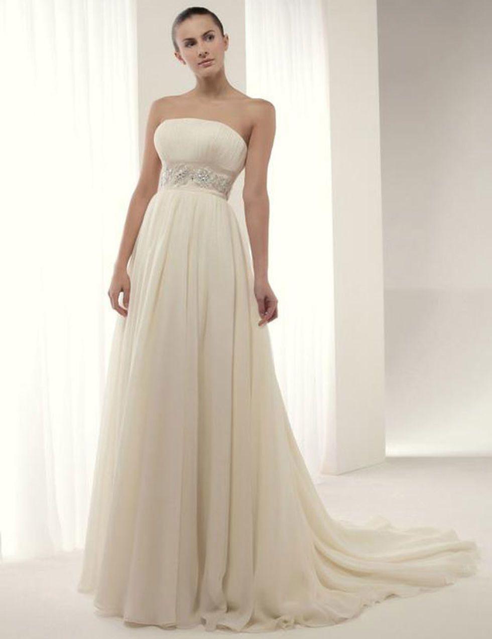 Alquiler de vestidos de novia el corte ingles