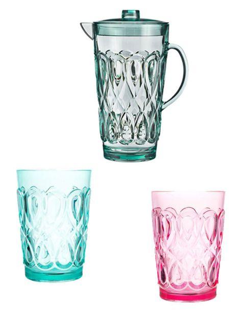 Drinkware, Serveware, Glass, Dishware, Tableware, Aqua, Teal, Cup, Barware, Lid,