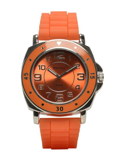 Product, Brown, Watch, Orange, Analog watch, Red, Glass, Amber, Fashion accessory, Font,